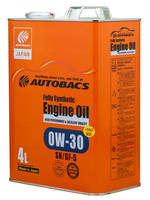 Масло моторное Autobacs Engine Oil FS 0W30 SN/GF-5+PAO 4л.